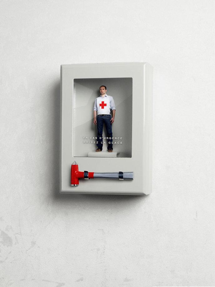 Croix Rouge par Marc Da Cunha Lopes