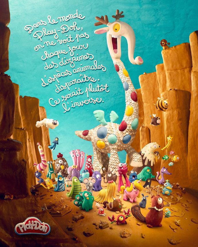 Play Doh par Marc Da Cunha Lopes