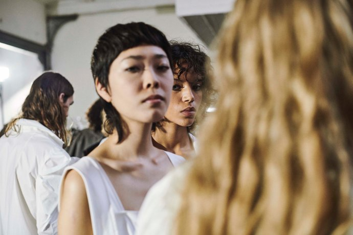Moonyounghee Backstage - Paris Fashion Week 2019 par Nicolas Prado
