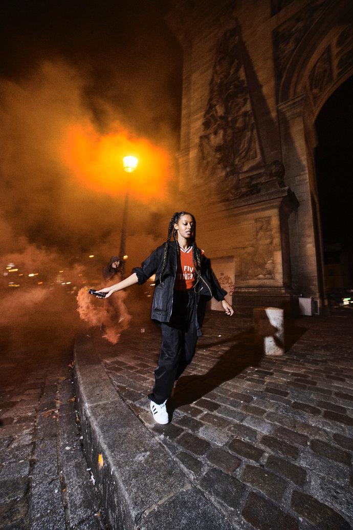Gunners in Paris @ Adidas par Nicolas Prado