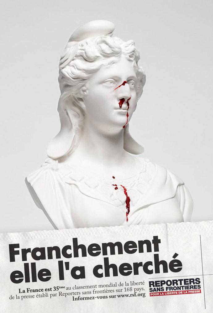 Reporters Sans Frontières @ Saatchi & Saatchi par Raphaël Dallaporta