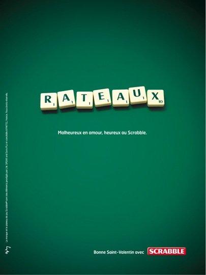 Scrabble @ Ogilvy & Mather par Raphaël Dallaporta