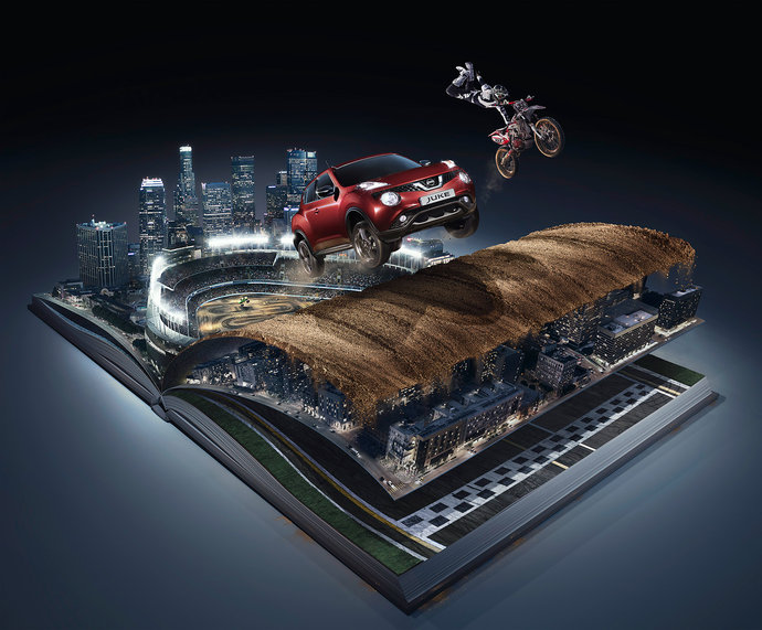 Nissan @ TBWA G1 par Andy Glass