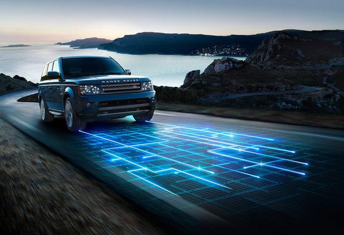 Range Rover par Andy Glass