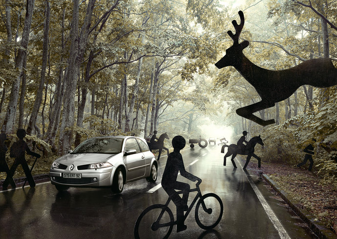Renault @ Publicis Conseil par Andy Glass