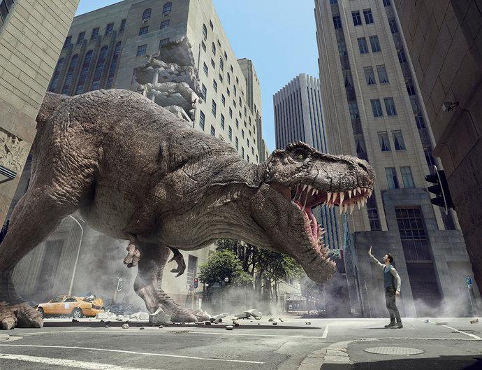 Samsung @ CHI - T-Rex par Andy Glass