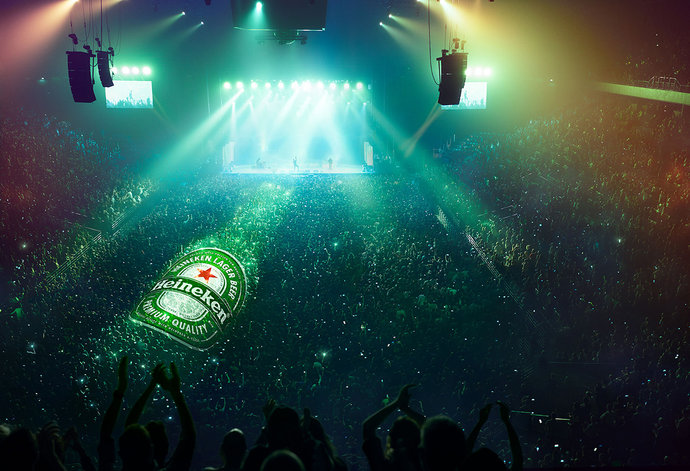 Heineken @ Publicis Italie par Andy Glass