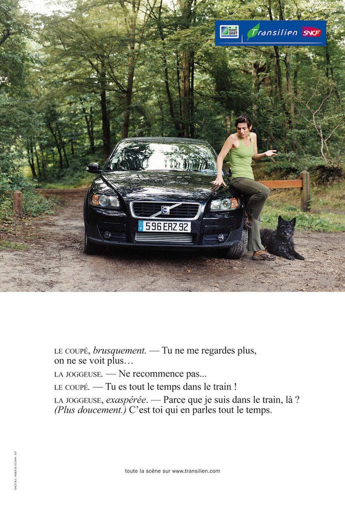 Transilien par Marion Poussier