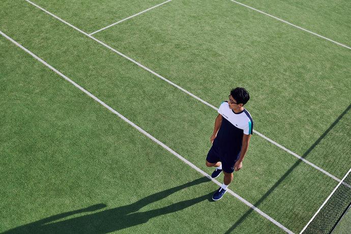 Lacoste Lookbook @ Bercy par Nicolas Prado
